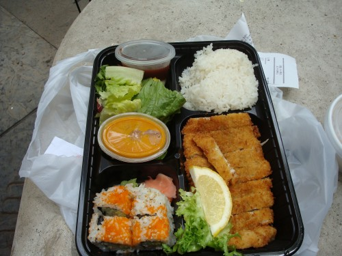 nu sushi s bento box is like my dream tv dinner midtown lunch downtown nyc. Black Bedroom Furniture Sets. Home Design Ideas