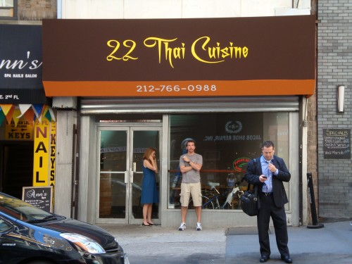 New thai place open on maiden lane cuban food truck for 22 thai cuisine maiden lane