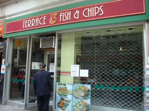 Terrace fish chips fulton location seized midtown for Terrace fish and chips