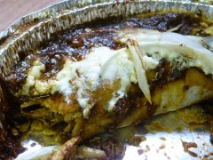 Nixtamalito enchiladas close