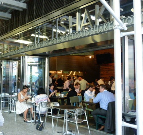 Shake Shack Makes Its Debut Downtown, And Everybody Wants A