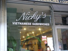 Nicky's window