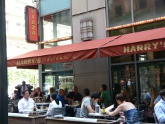 Harry's Italian outside