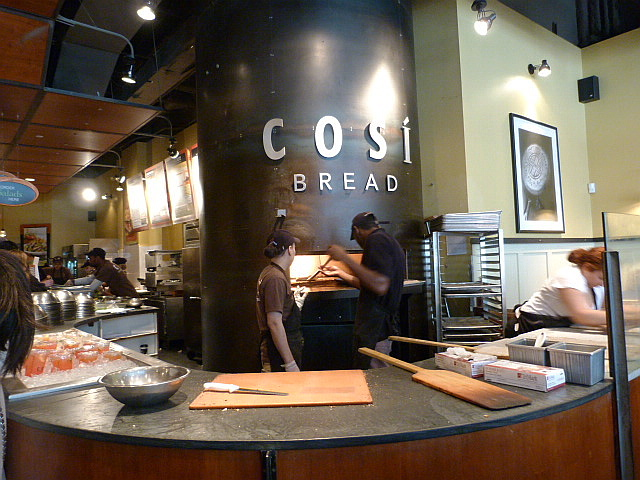 Cosi | Midtown Lunch: Downtown NYC Cosi Cuisine on