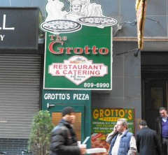 grotto sign