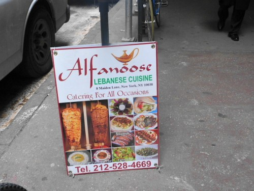 Alfanoose finds a way to make cauliflower deliciously for Alfanoose middle eastern cuisine