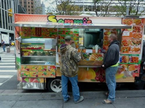 Truck midtown lunch downtown nyc for Food truck juice bar