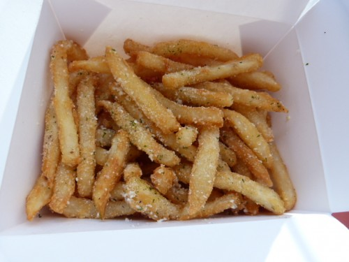 italian fries with cheese