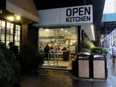 open kitchen front