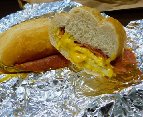 Jersey Mike's Pork Roll Breakfast Sandwich Makes A Worthy Lunch | Midtown Lunch: Downtown NYC