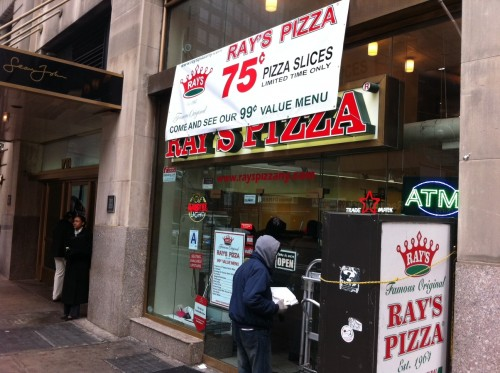 Pizza Price Wars Heat Up As Rays Intros 75 Cent Slice