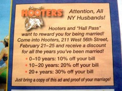 hooters marriage