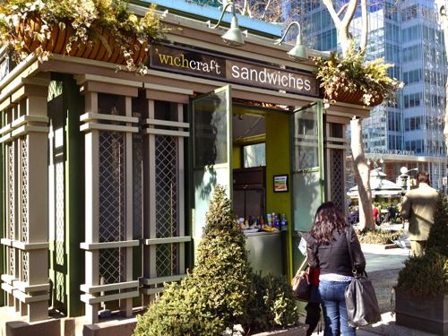 The mayor eats for free everyday at 'Wichcraft.