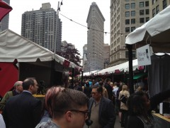 Mad Sq Eats atmosphere