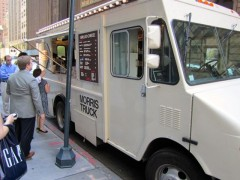 morris cheese truck snail of approval