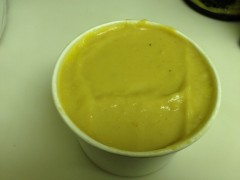 Blue Dog butternut squash ssoup