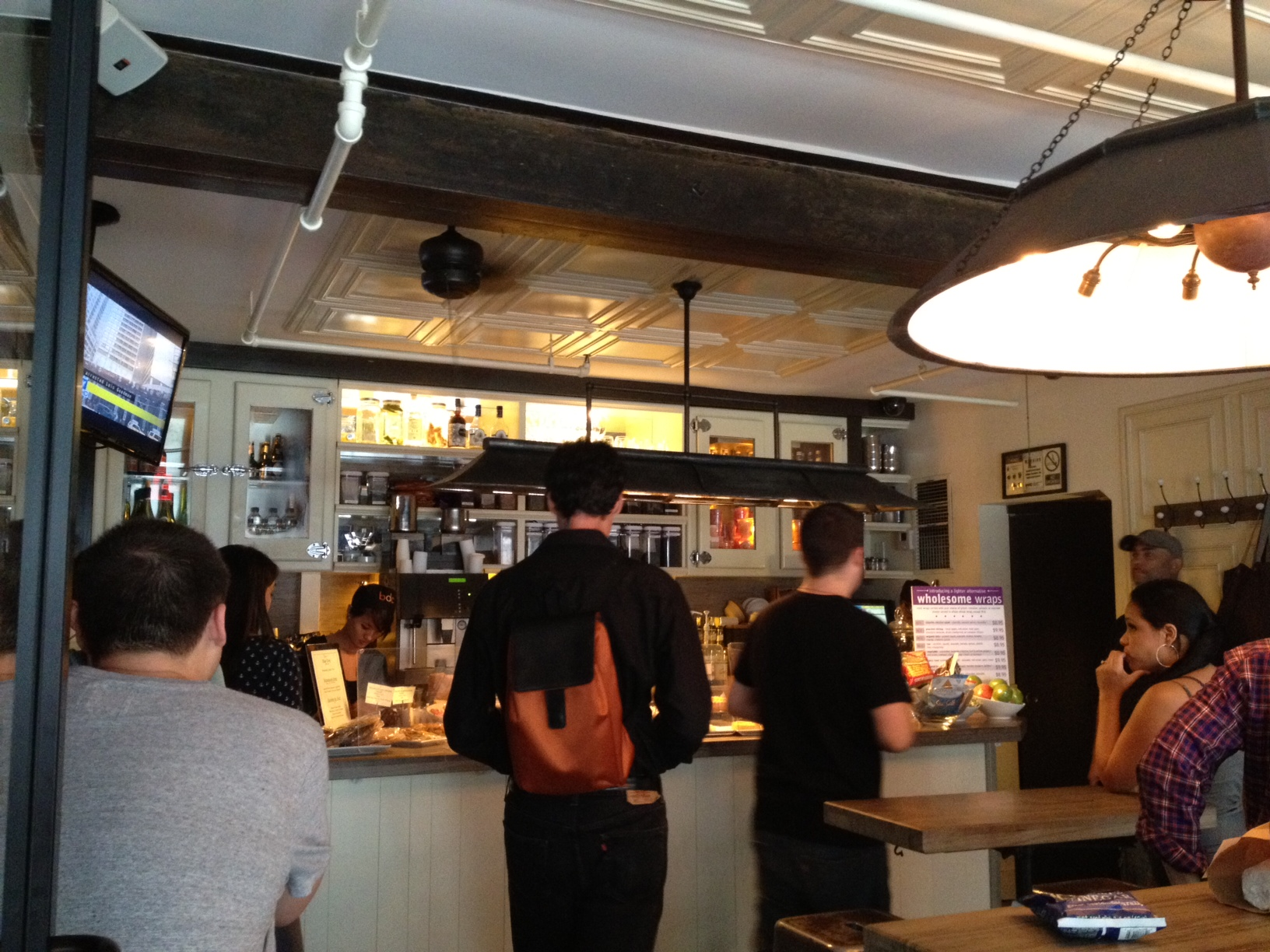 Flatiron Lunch Blue Dog has Big Options and Flavors in a Tiny