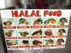 Every Day Fresh Halal Picture Menu