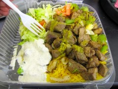 every day fresh halal grilled lamb