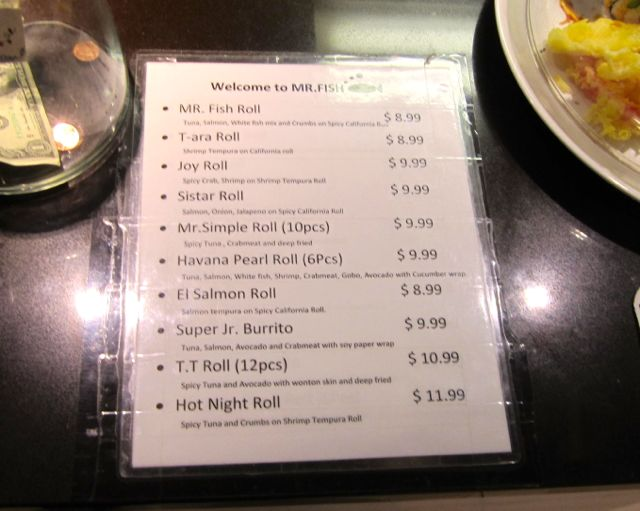 Mr fish in food gallery 32 has an enormous 10 lunch for Mr fish menu
