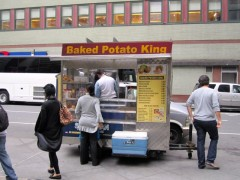 baked potato king cart