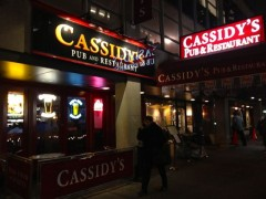 Cassidy's Pub Outside
