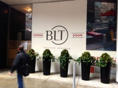 BLT American Brasserie NYC Outside