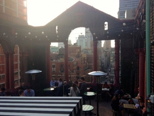 Midtown Happy Hour Pod 39 Rooftop Lounge Has A Great View