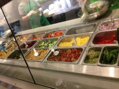 Sweetgreen buffet