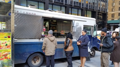 On My Wanderings For Midtown Lunch I Kept Passing By This Unmarked Truck That Always Had A Line What Were People Lining Up To Eat One Of Those Times