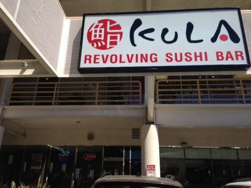 Kula Sushi Now Revolving On Sawtelle And It S A Cheap Sushi Fan S Dream Come