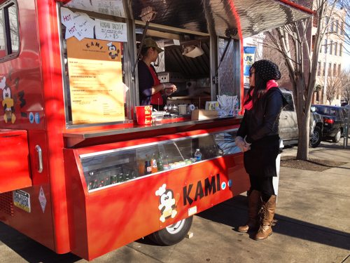 KAMI Food Carts Korean Cheesesteaks